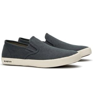 SeaVees Baja Standard Mens Slip On Slate Navy New
